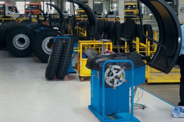ravaglioli maquina equilibrar rodas pesados